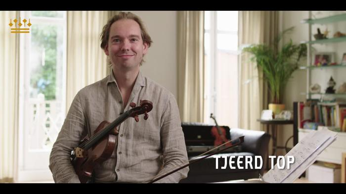 Tjeerd Top, first violin